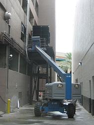 Windsor Court Hotel-New Orleans Generator (on platform 20 feet above flood level)